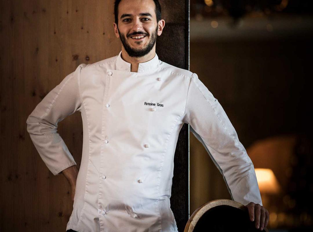 Portrait of our chef, hotel restaurant saint remy de provence, Hôtel de L'Image.