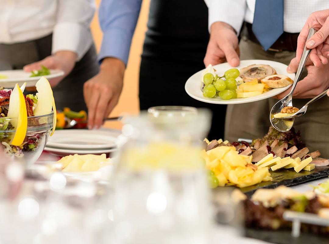 Large cold buffet, provence wedding venue, Le Vallon de Valrugues & Spa.