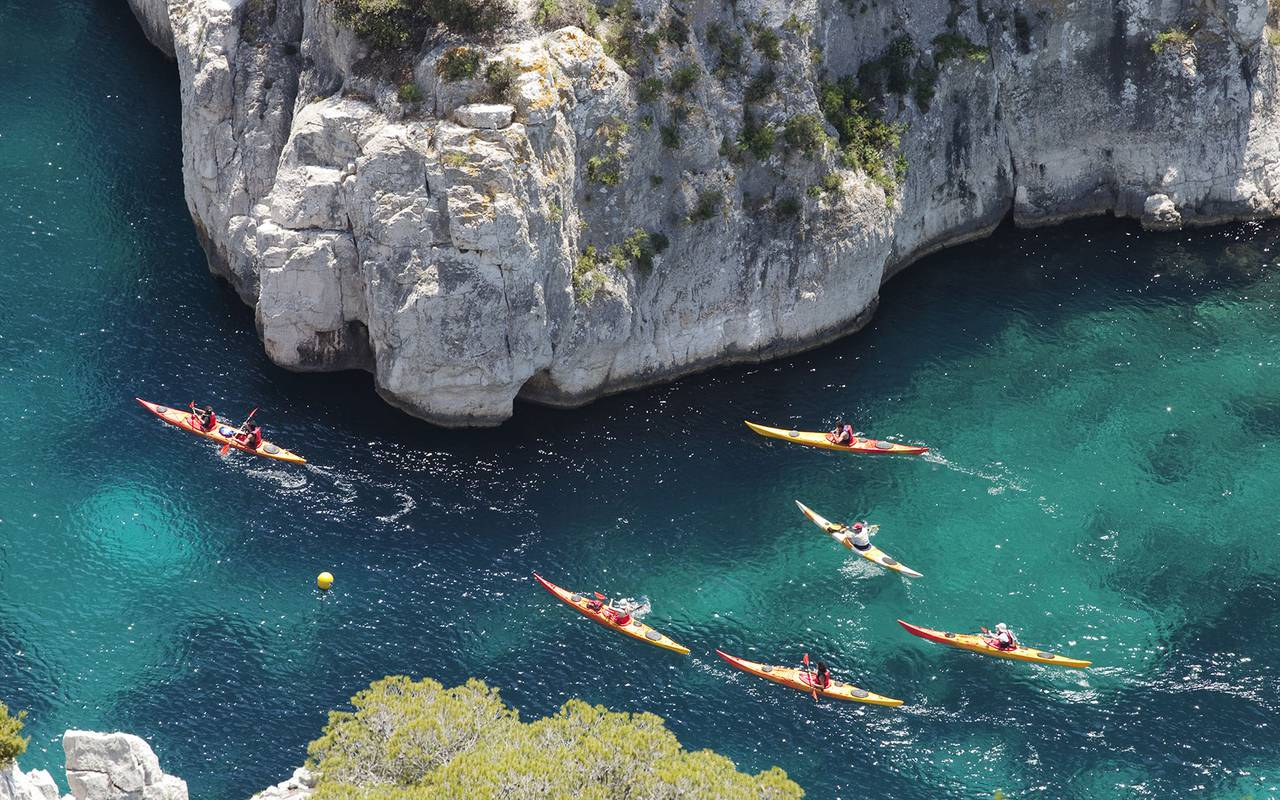 Outing and canoe trip, luxury stay in provence saint remy de provence, Le Vallon de Valrugues & Spa.