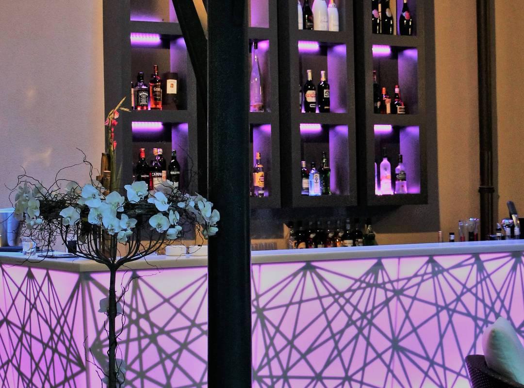 Lounge bar, hotel Saint-Remy-de-Provence, Hôtel de l'Image.