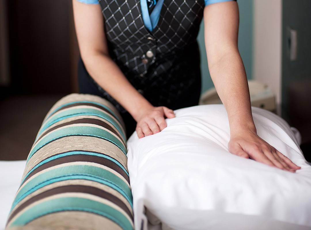 Service ménager de la chambre hôtel provence