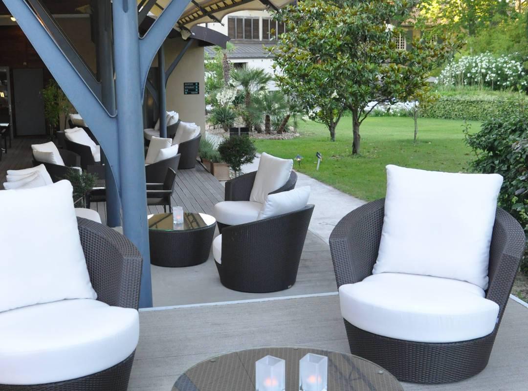 Bar avec terrasse hôtel Saint-Remy-de-Provence