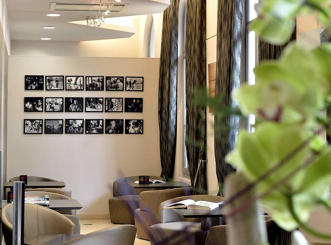 Espace détente et bar, hotel de charme saint remy de provence, Hôtel de l'Image.