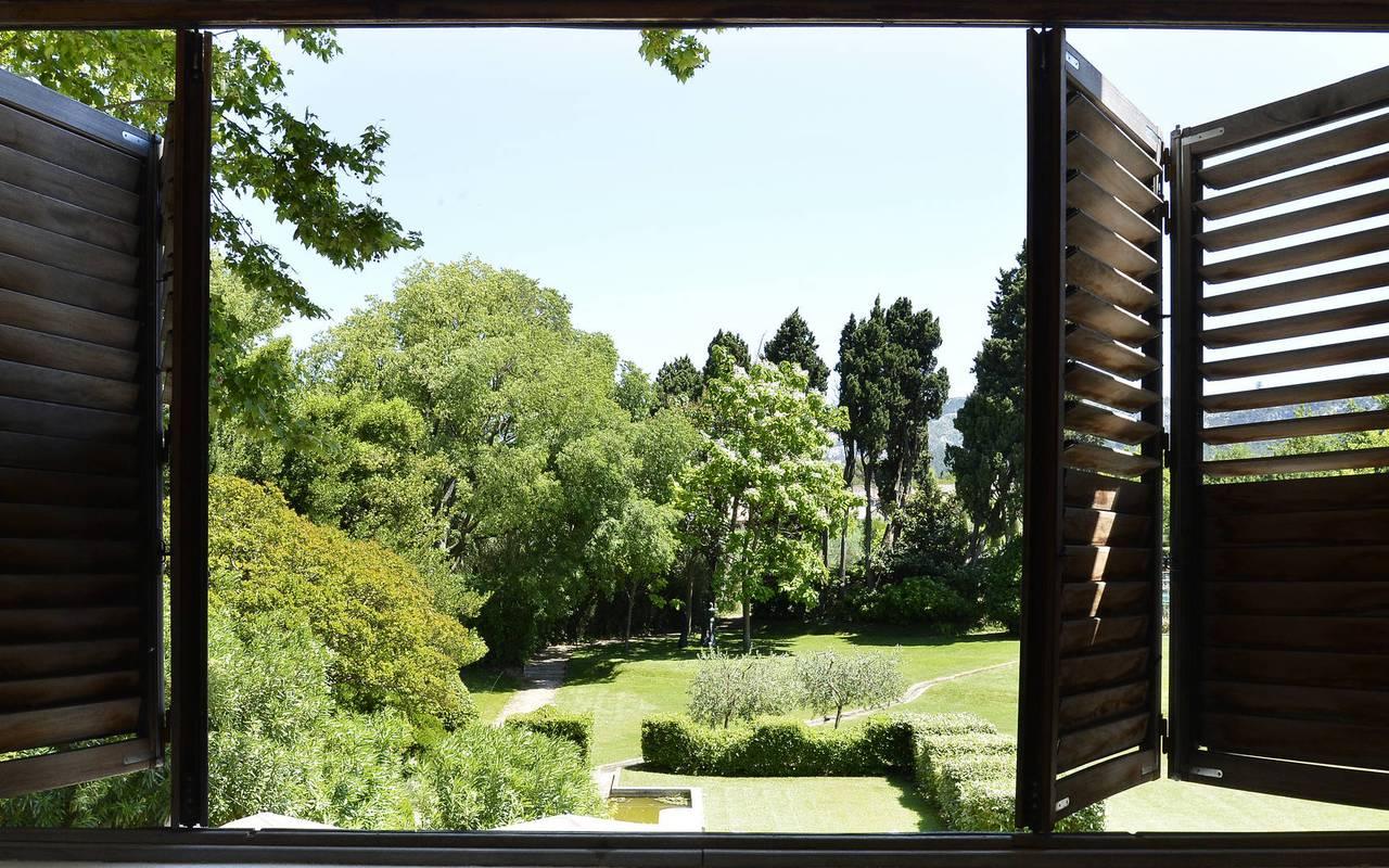 Superbe vue sur la nature, hôtel provence luxe, Hôtel de L'Image.